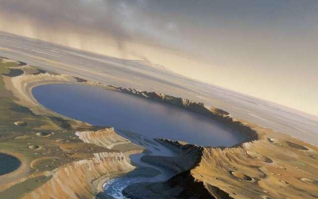 Ученые рассказали какой вкус был у воды на Марсе