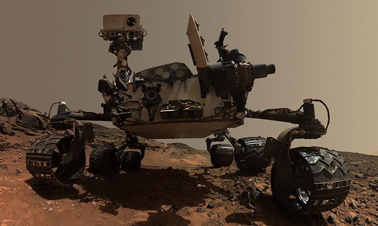 «Прогресс очевиден!»: марсоход Curiosity превзошел людей вискусстве «селфи»