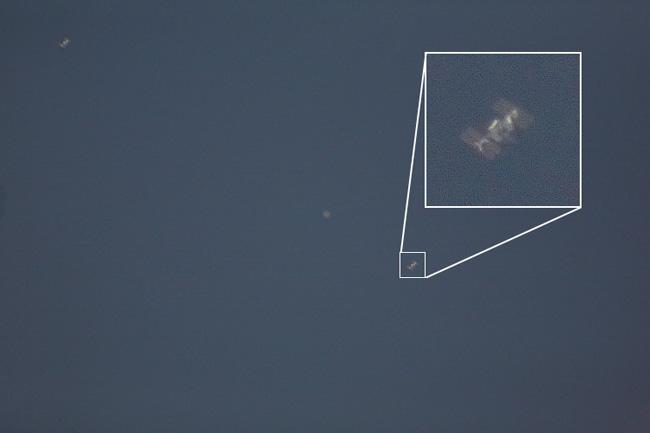 Южноуральцы смогут увидеть исфотографировать внебе интернациональную космическую станцию