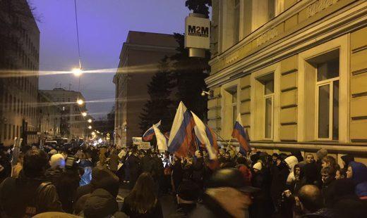 Ответные действия Москвы или как посольство Украины в столице забросали яйцами