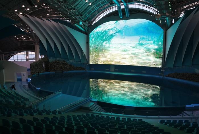 Скоро откроется океанариум расположенный на острове Русский во Владивостоке