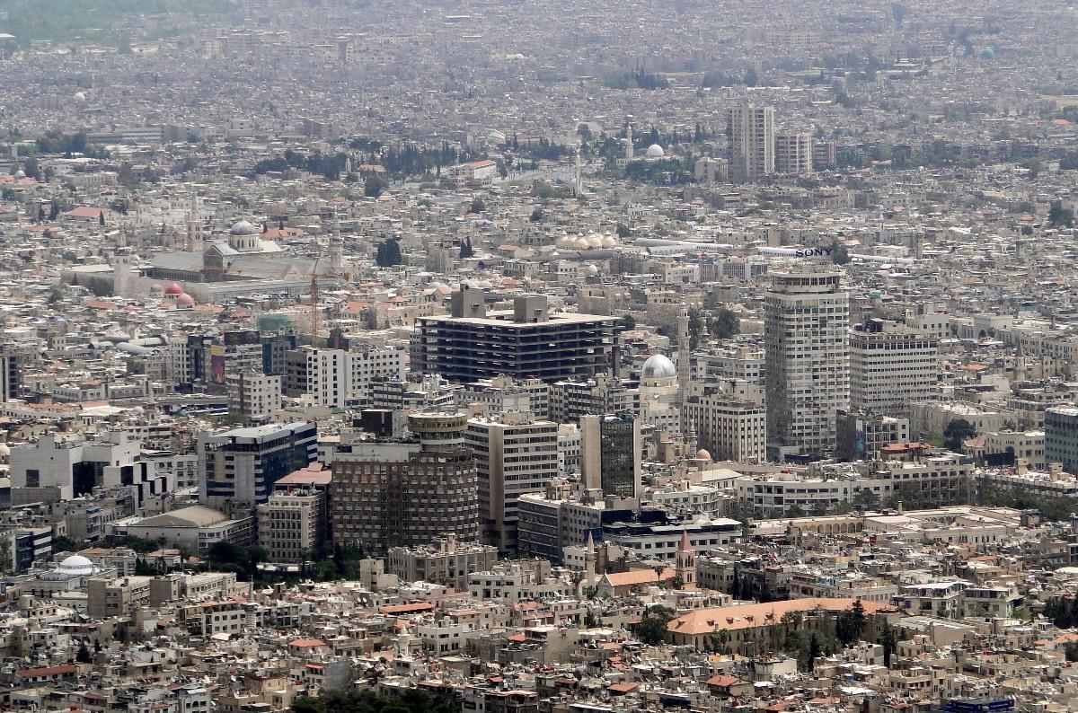 Военный самолет разбился под Дамаском