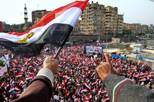 ВКаире применили слезоточивый газ против демонстрантов