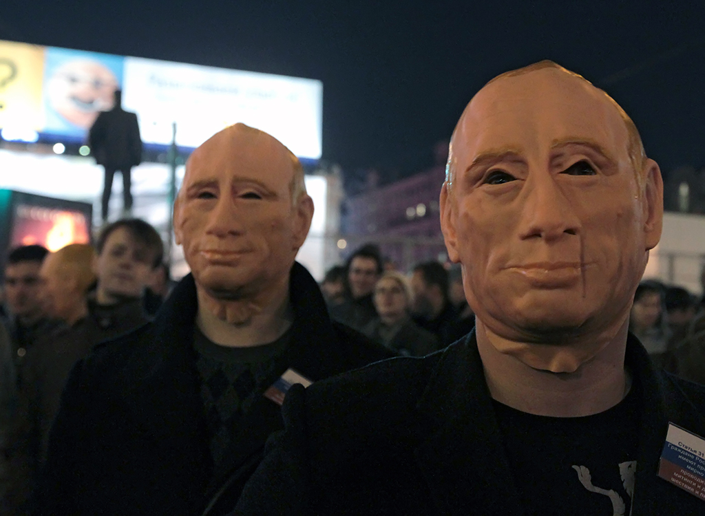 Суд Москвы постановил уничтожить маску Путина