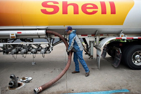 Прибыль Shell сократилась почти в 10 раз