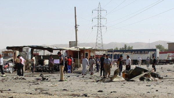 ВБагдаде произошла новая серия взрывов