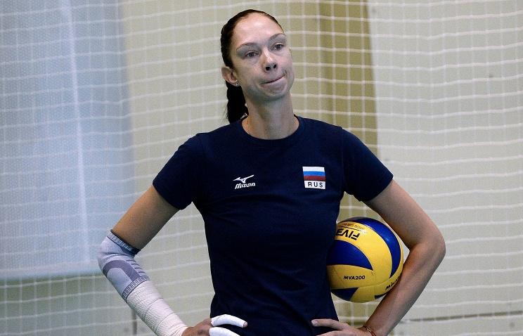 Волейболистка Гамова объявила озавершении карьеры