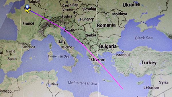 Обломки самолета EgyptAir найдены кюгу отострова Карпатос