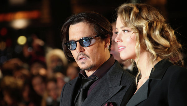 Супруга Джонни Деппа подала наразвод