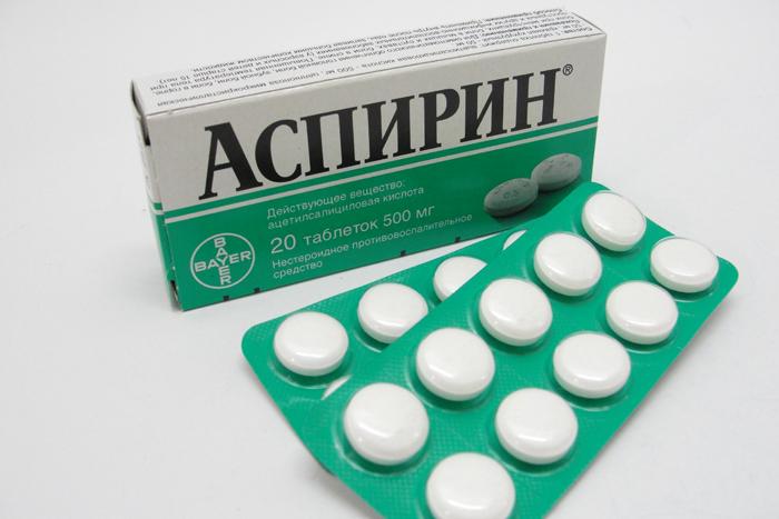 Длительный прием аспирина может привести кслепоте