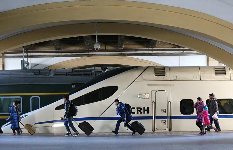 Пекин: Китайцы построят скоростной поезд сообщением Москва