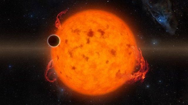 Найдена одна изсамых молодых планет воВселенной