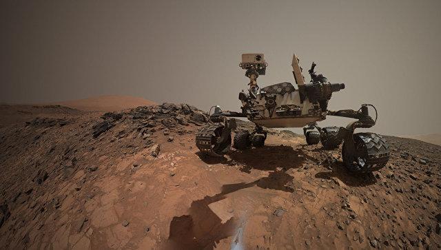 Curiosity отыскал наМарсе земной минерал