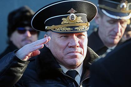 Командующий Балтфлотом уволен за«серьезные упущения вбоевой подготовке»