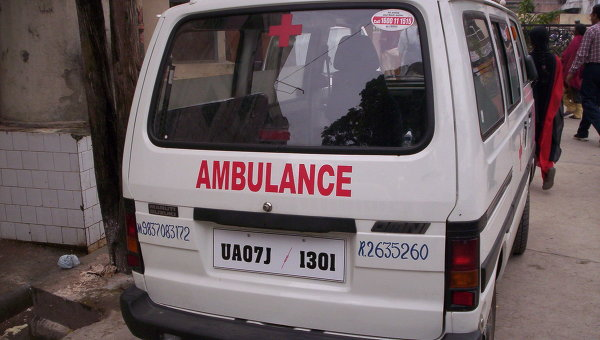В итоге обрушения здания вИндии погибли два человека