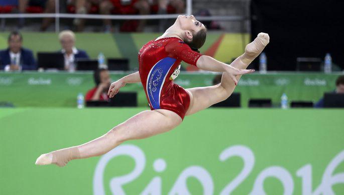 Спортивная гимнастика. Американки выиграли командное первенство, россиянки завоевали серебро