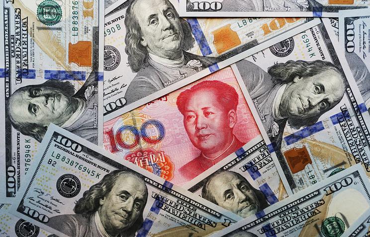 Народный банк Китая поднял курс юаня до6,6255 задоллар