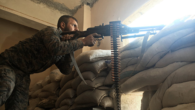 Сирийские войска перешли кнаступлению кюгу отАлеппо