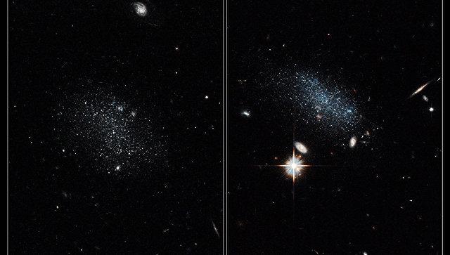 Астрономы обнаружили галактики, которые пришли изкосмической «пустоши»