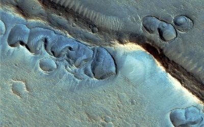 НаМарсе найдены ледники