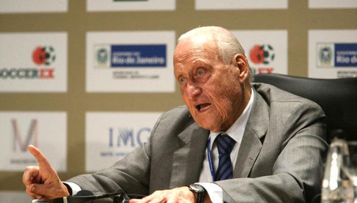 Экс-президент ФИФА Авеланж скончался на101-м году жизни
