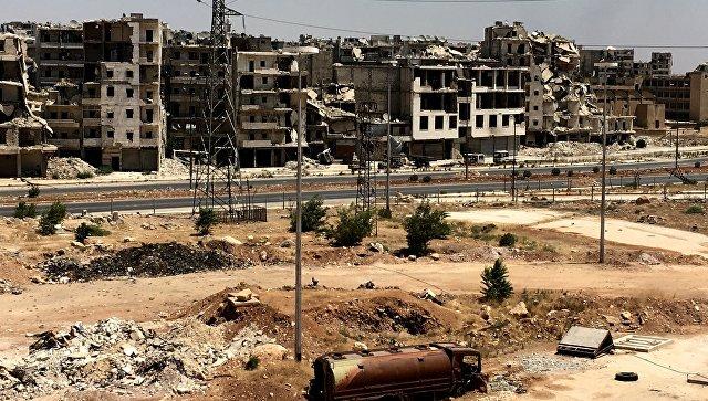 СМИ проинформировали, что исламские боевики изгруппировки применили химическое оружие вАлеппо