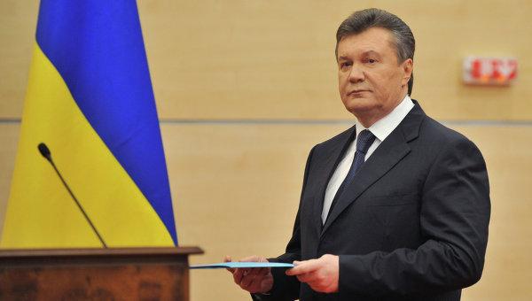 Янукович потребовал проведения очной ставки слидерами Майдана