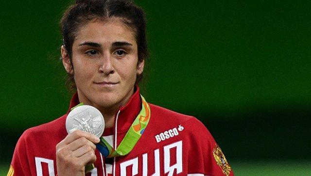 Российская спортсменка Воробьева завоевала серебро на ОИ в Рио в борьбе