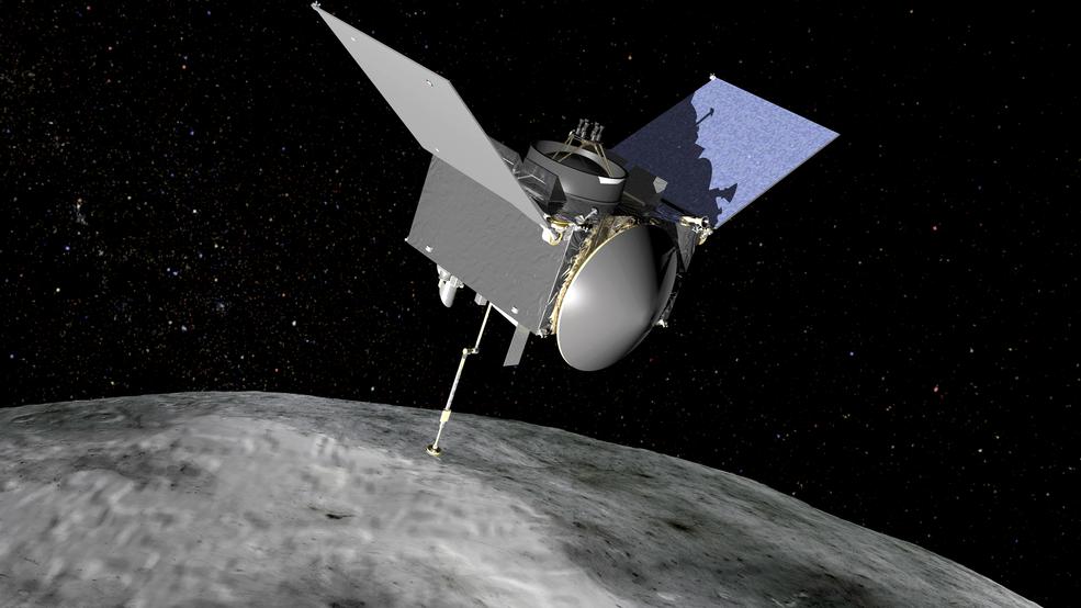 1-ый образец породы астероида доставят наЗемлю в 2023г.