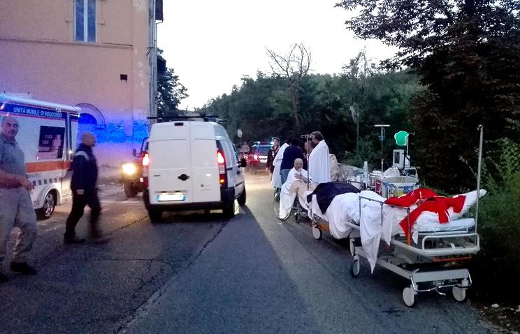 Жертвами землетрясения вИталии стали как минимум 14 человек