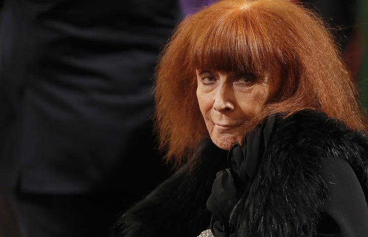 Встолице франции скончалась легенда мировой моды Соня Рикель