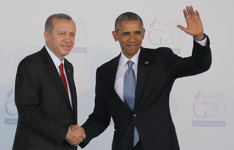 Обама иЭрдоган встретятся насаммите G20 в«Поднебесной»