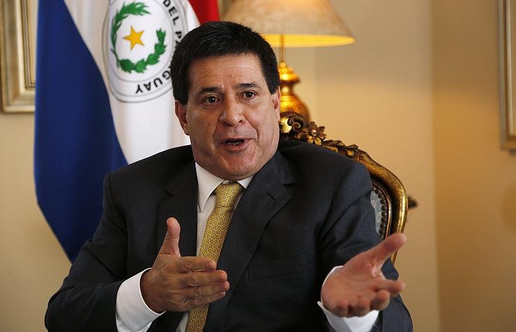 Парагвай «покраснел» из-за вероятностного покушения напрезидента