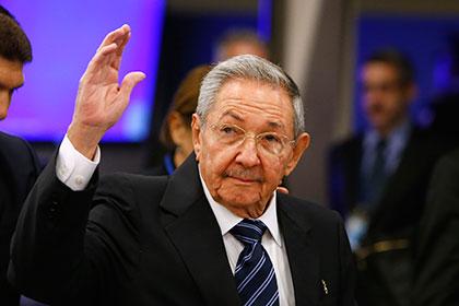 Кастро попросил Владимира Путина наладить поставки нефти наКубу