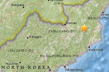 Северная Корея могла провести очередные ядерные тестирования