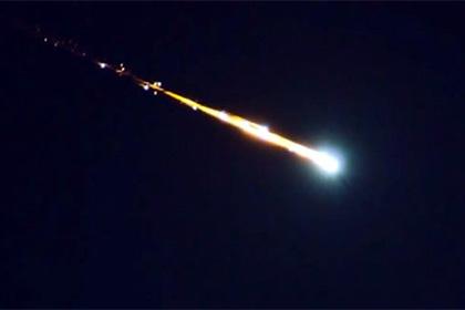 Метеорит атаковал Землю ивзорвался наКипре