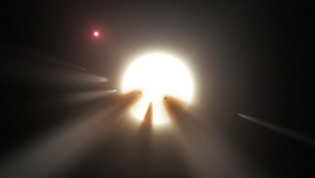 «Звезда пришельцев» стала еще неменее странной— Ученые