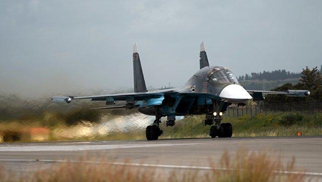Русские летчики выполнили тренировочные полеты нановейших Су-34