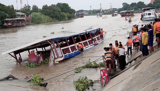 Теплоход протаранил опору моста, большое количество жертв— катастрофа вТаиланде