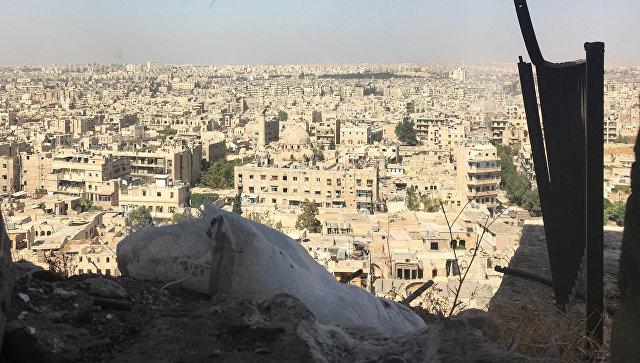 Встаром городе Алеппо первый раз затри года поменялась линия фронта
