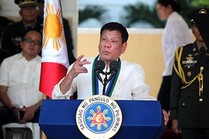 Президент Филиппин назвал себя Гитлером и объявил оготовности убивать