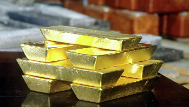 Золото дешевеет нафоне предстоящей публикации статистики порынку труда США