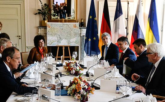 Украина недавала соглашение напроведение встречи лидеров «Нормандской четверки»