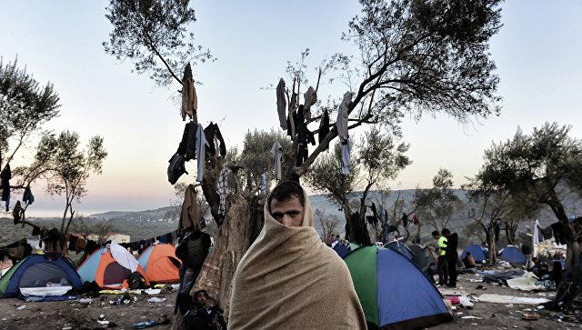 Влагере беженцев нагреческом острове Лесбос произошли беспорядки