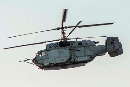 ВСирии был замечен новый вертолетРФ радиолокационной разведки Ка-31СВ