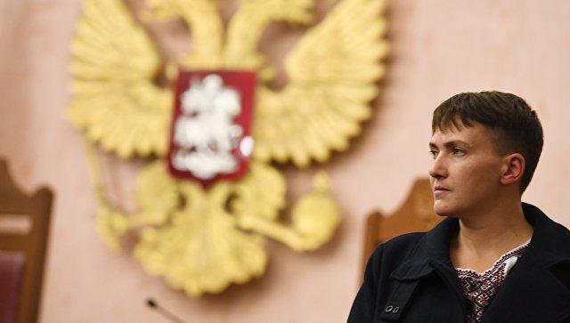 Савченко опоездке в столицуРФ: «вернулась изада живой»