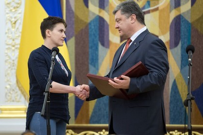 Савченко назвала власти Украины враждебными ипредложила гнать их