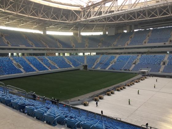 Матчи Чемпионата мира нельзя проводить навыкатном поле Санкт-Петербурга— Инспекторы FIFA