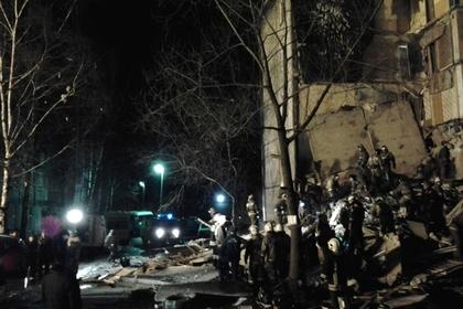 ЧП в Российской Федерации совзрывом дома: появилось видео