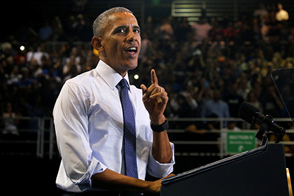 Обама высмеял отстранение Дональда Трампа отиспользования аккаунта в«Твиттере»